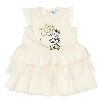 Vestido para niña de Disney con diseño de Minnie Mouse con detalles ...