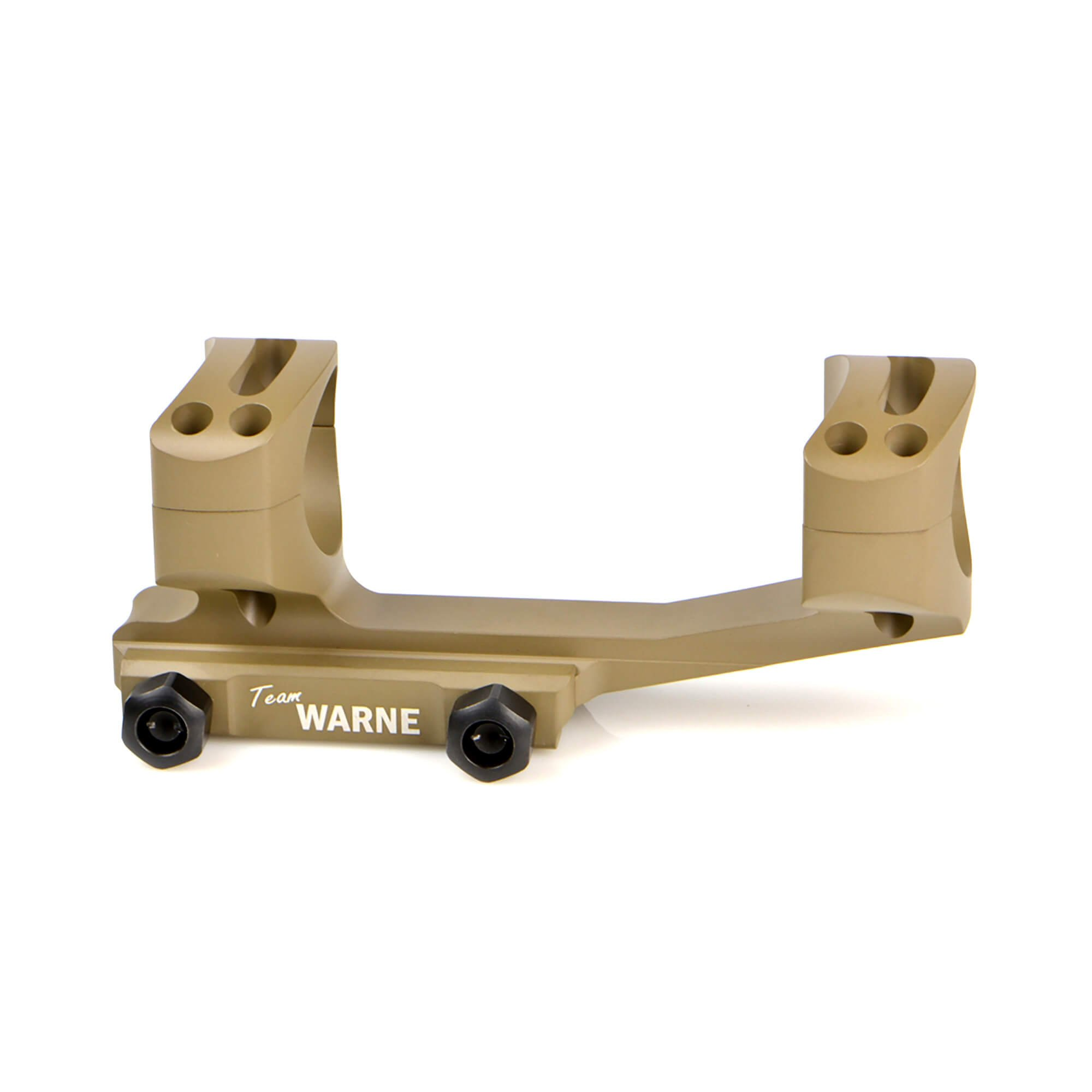 Warne Scope Mounts Gen 2 Extended Skeletonized 1'' Mount, Dark Earth by Warne Scope Mounts