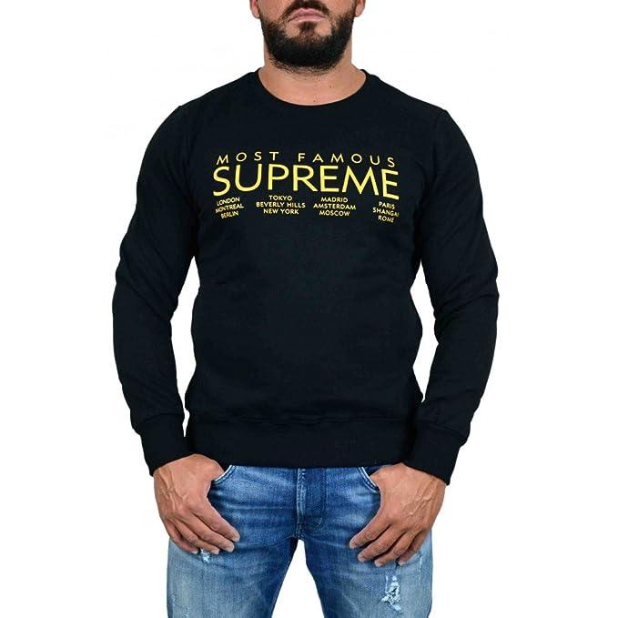 Supreme - Sudadera con capucha - para hombre negro negro: Amazon.es: Ropa y accesorios