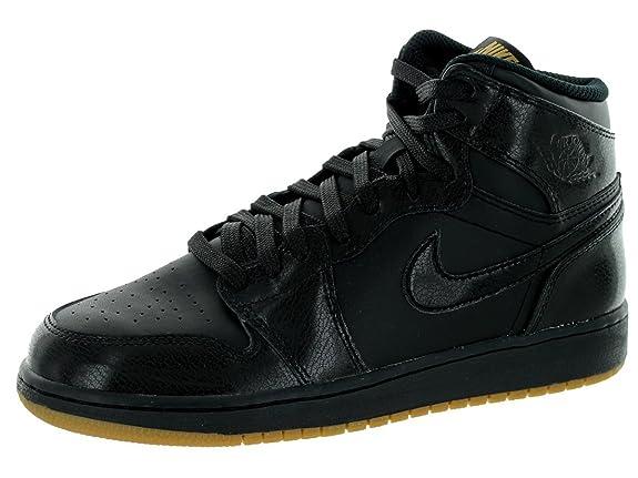 newest 3bdf9 43880 Nike Boys   Air Jordan 1 Retro High Og Bg Basketball Shoes  Amazon.co.uk   Shoes   Bags
