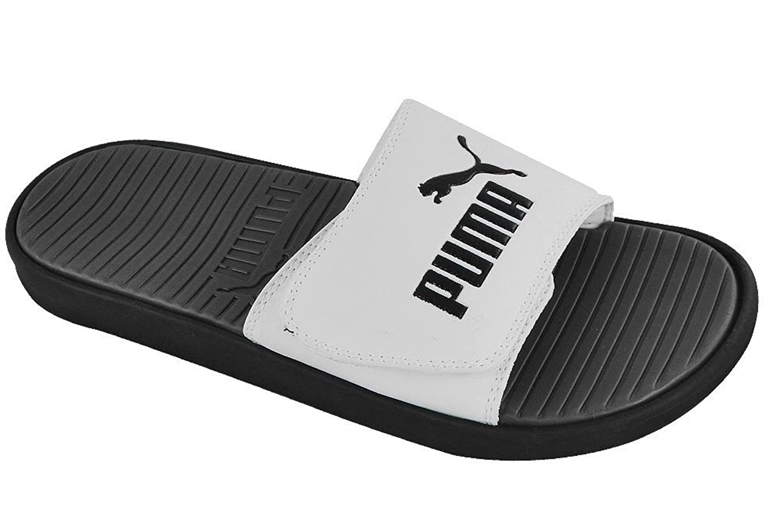 Puma black velcro sandals - Puma Black Velcro Sandals 19