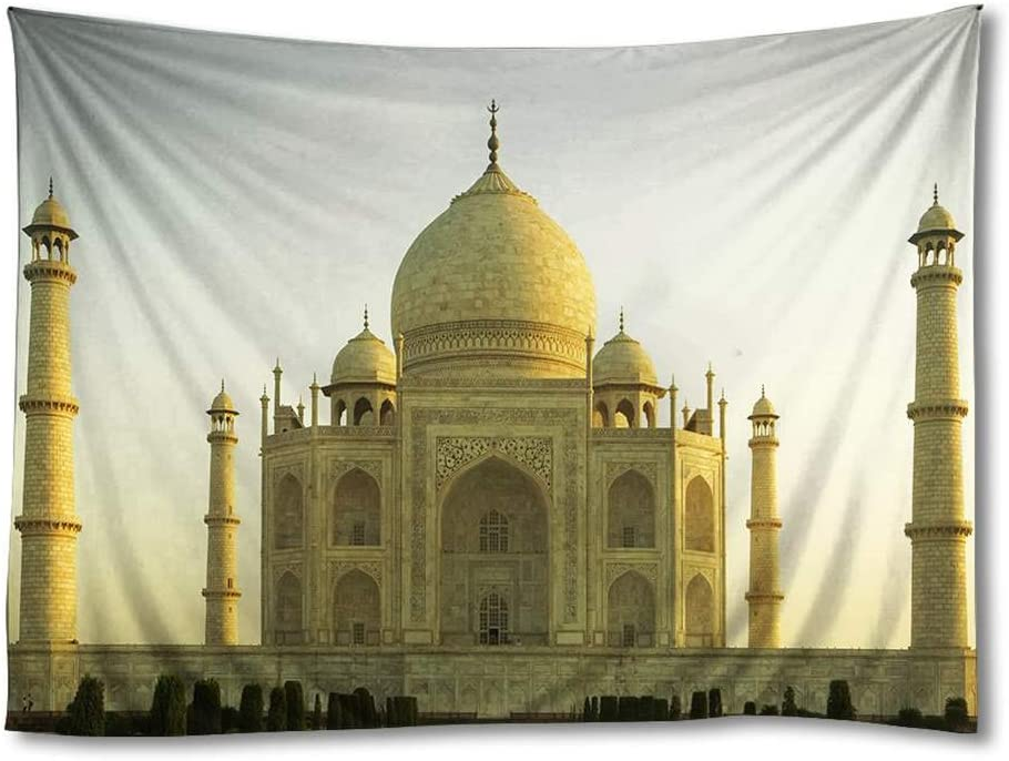 FHYGJD Taj Mahal (T002) Art Print Tapestries,Home Wall Decor Tapestry(60x90 inch)