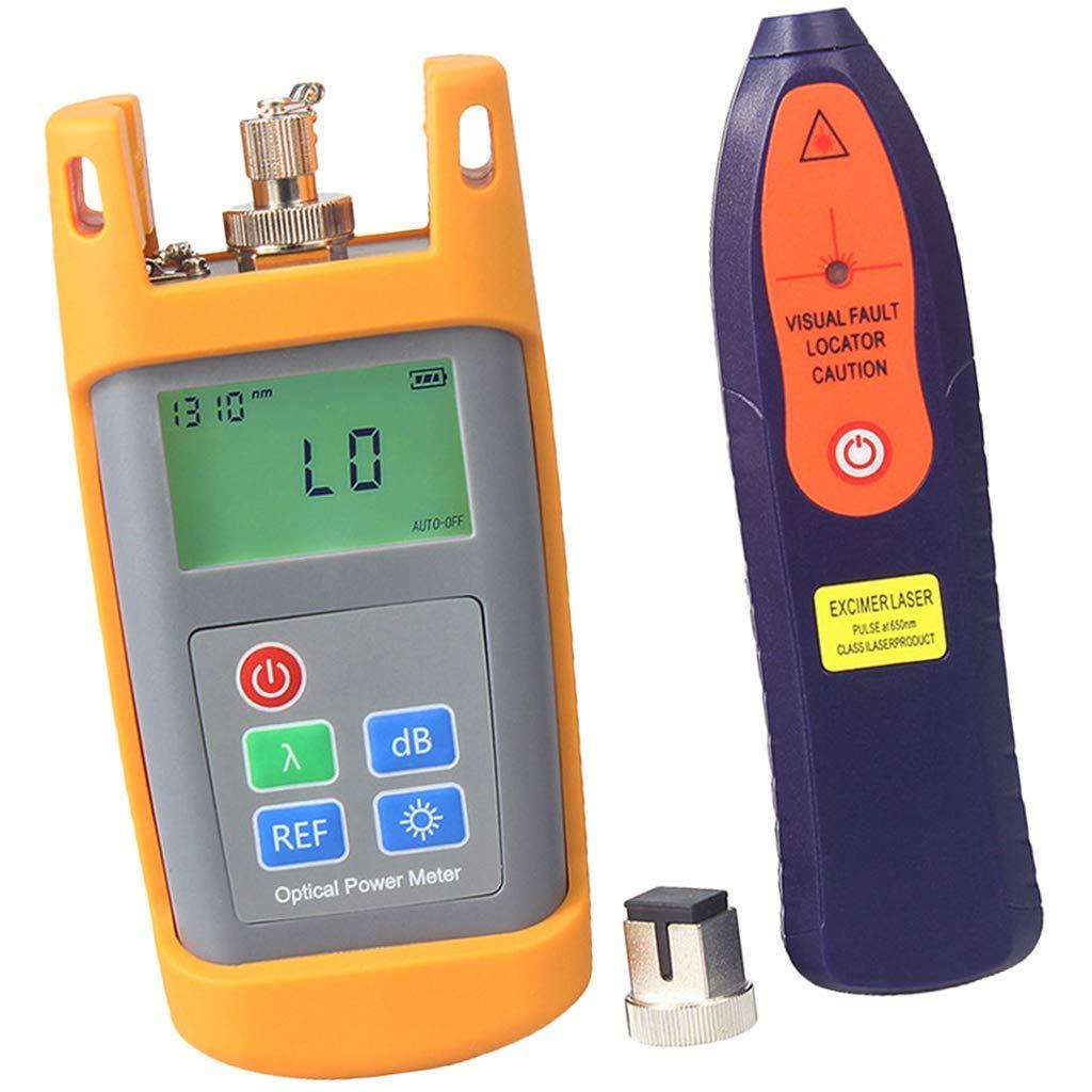 nouler Juler Fiber Power Meter Tool and 25Mw Visual Fault Locator Cable Test Pen by nouler