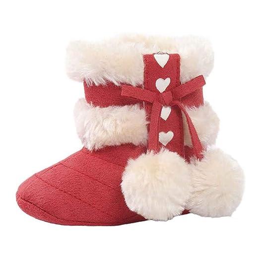 Xinantime Zapatos Bebe Invierno Zapatillas Calzado recién Nacido cálido Botines De Bebé Niña niño Botas de