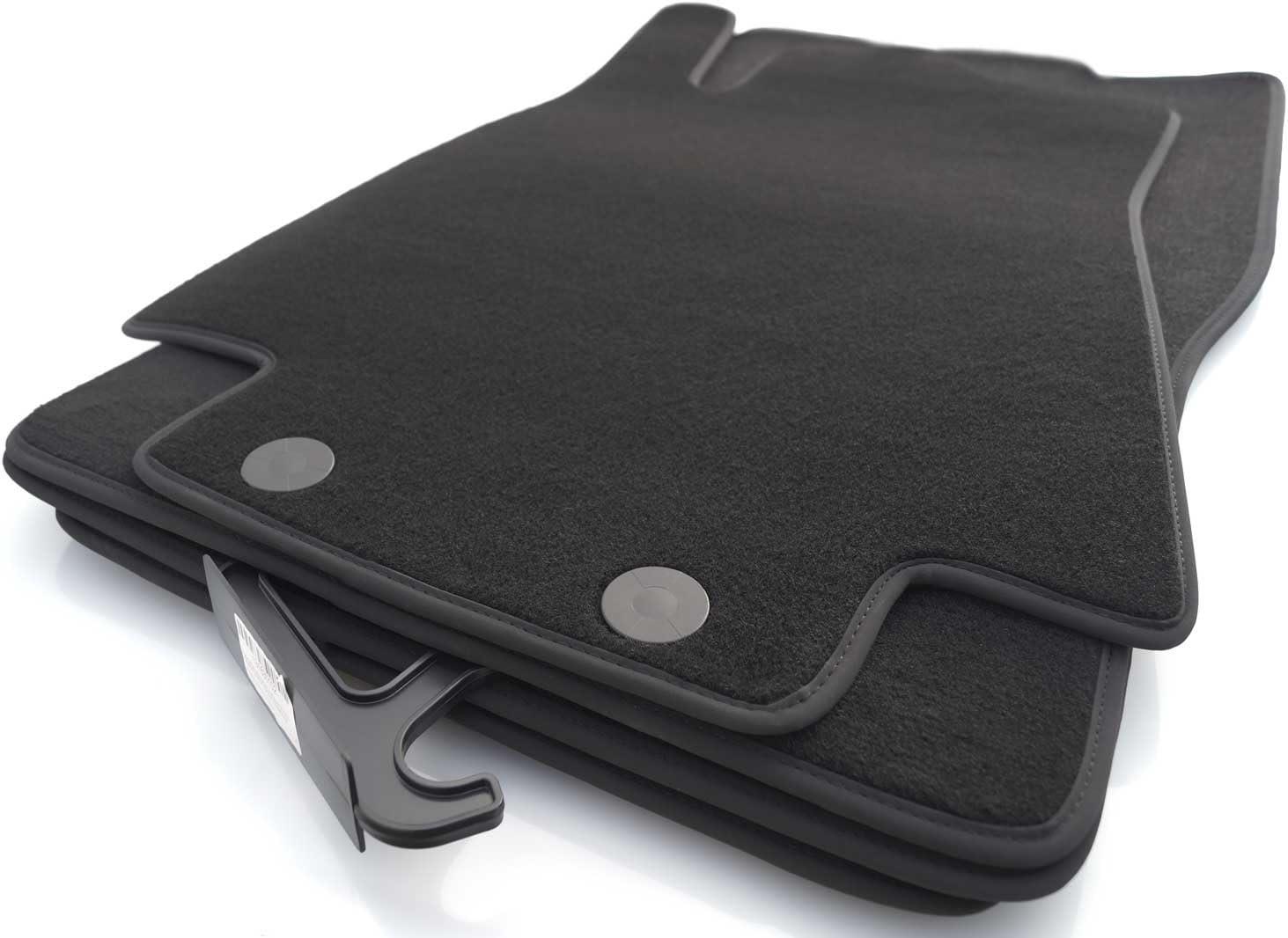 Kh Teile Fußmatten W246 Velour Automatten Original Qualität 4 Teilig Schwarz Auto