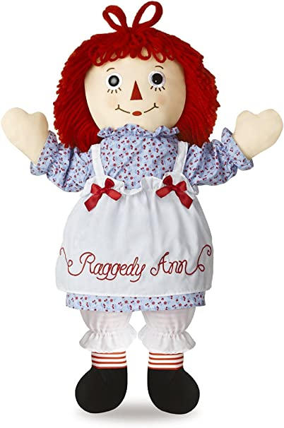 "Aurora World Raggedy Ann Classic Doll 12/"" Collectible Vintage-Inspired Exclusive"