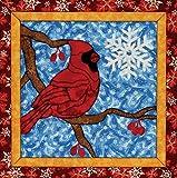 Winter Cardinal Quilt Magic Kit