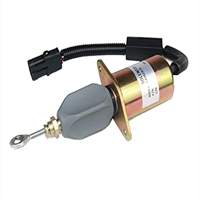 13026882 Flameout Solenoid Switch 13026882 12V Stop Solenoid for Shutoff Solenoid Diesel Engnie Aftermarket Parts: Automotive