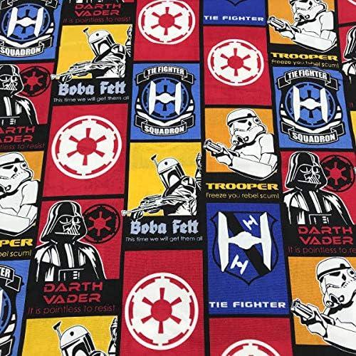Tela de Patchwork - Star Wars - 100% algodón - Retal de 100 cm ...