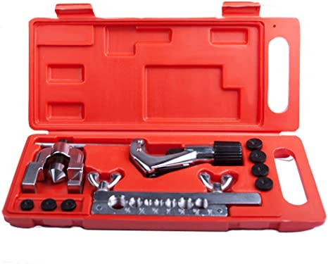 includes inverted flare kit, tube cutter, and tubing pliers Brake line tool kit