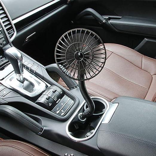 Ventilador WuLi77 de 12 V, mini ventilador de coche, encendedor de ...