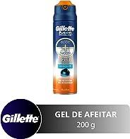 Gillette Fusion Proglide 2 En 1 Hidratante Gel Para Afeitar 200 ml
