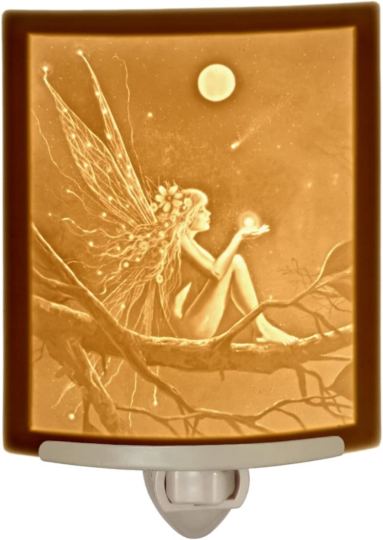 Catch a Falling Star by David Delamare Porcelain Lithophane Night Light