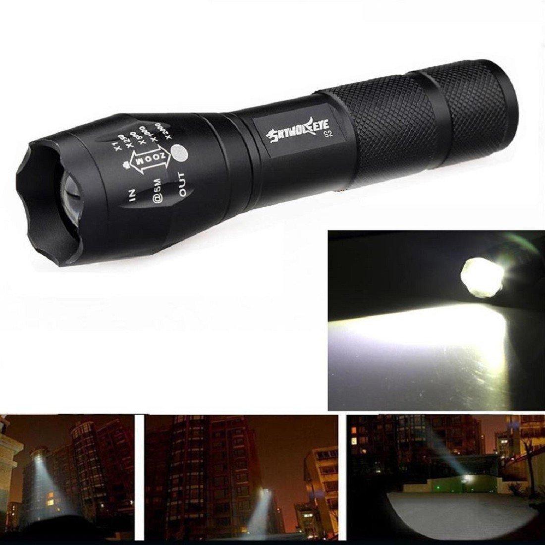 Tongshi 3500 antorcha del lumen 5 modos del CREE XM-L T6 LED de ...