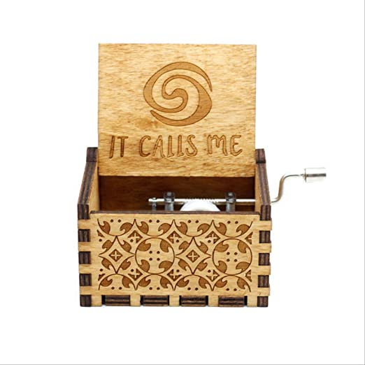 IANSISI Caja Musica Niña Carve Retro Caja De Música De Madera (canción De Hielo Y Fuego, Juego De Tronos) Tema De Manivela Música Caixa De Music Box Princesa de la Isla: Amazon.es: