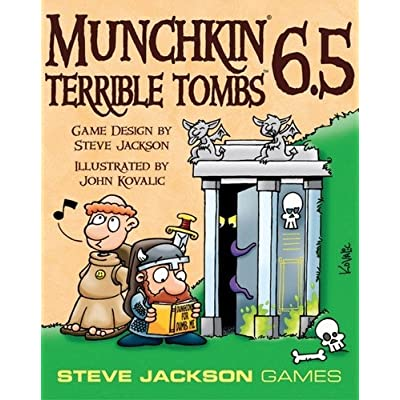 Munchkin 6.5 - Terrible Tombs: Toys & Games