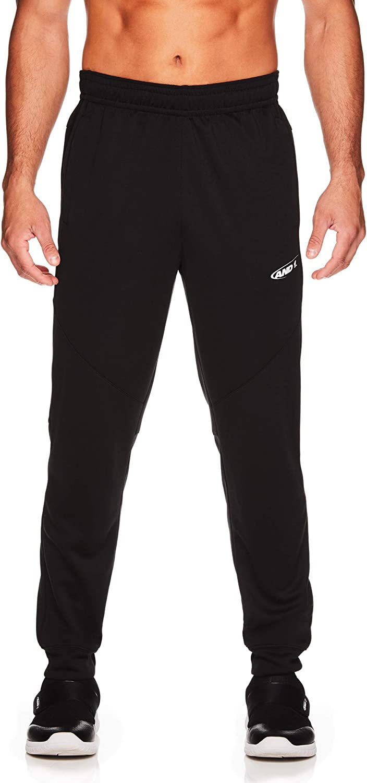AND1 Men's Tricot Jogger Pants - Basketball Running & Jogging Sweatpants w/Pockets