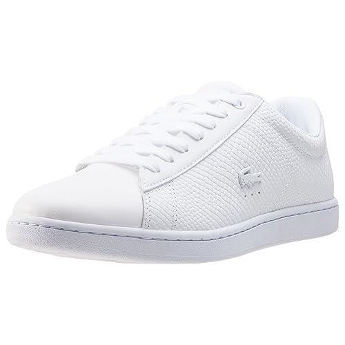 Lacoste - Carnaby EVO - Zapatillas - White: Amazon.es: Zapatos y complementos
