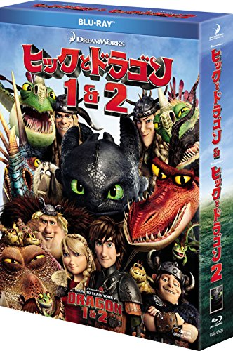 Animation - How To Train Your Dragon 1&2 Blu-Ray Box (2BDS) [Japan LTD BD] FXXA-63426