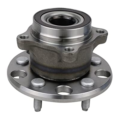 NT512337 Wheel Bearing Hub Assembly, Rear Left/Right, for 2006-2015 Lexus IS250 (RWD, AWD)/ 06-16 IS350 / 08-14 IS F/ 15-16 RC F (RWD)/ 06-11 GS300/ GS350/ GS430/ GS450H/ GS460 (RWD, AWD), w/ABS: Automotive