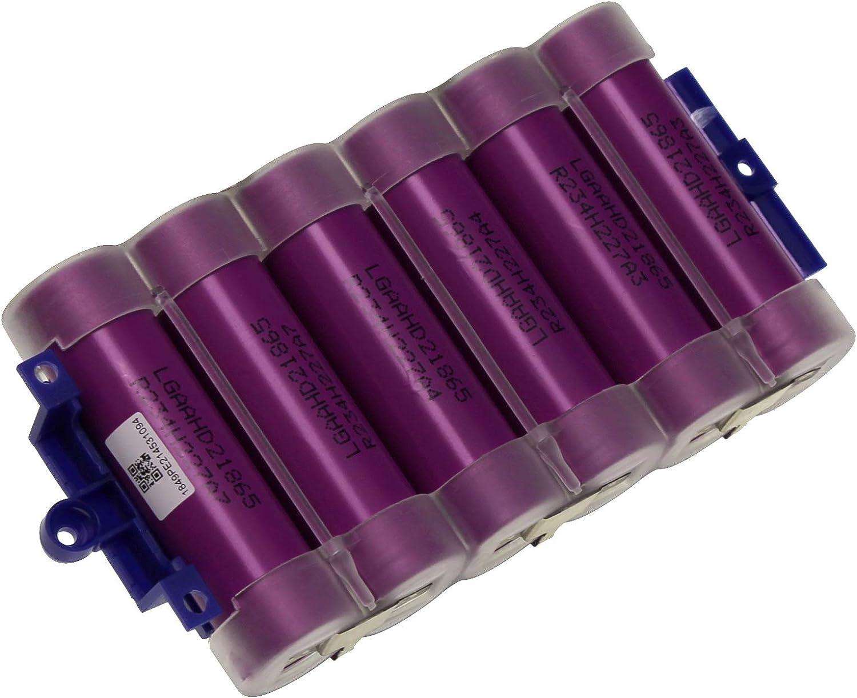 Rowenta batería + tarjeta PCB 21.9 V escoba Air Force 360 460 RH90 rh92 rh9089: Amazon.es: Hogar