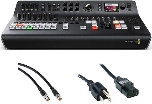 Amazon Com Blackmagic Design Atem Television Studio Pro Hd Live Production Switcher With Sdi Video Cable Pc Power Cord 6 Bundle Camera Photo
