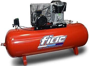 Compresor de aire con transmisión a correa trifásico 500 l 7 ...