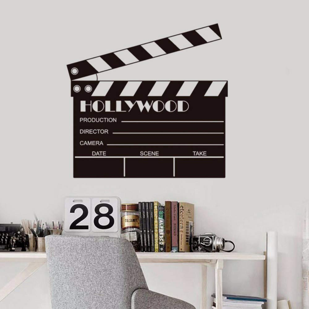 Amazon.com: Pbldb 57X55Cm Movie Clapboard Props Action ... on design fashion, landscaping for home, decorating for home, design organization, design flowers, projects for home, kitchen design for home, storage for home, garden design for home, paint for home, interiors for home, inspiration for home, lighting for home, flooring for home, products for home, design patterns for home, shower designs for home, colors for home, bamboo for home, accessories for home,