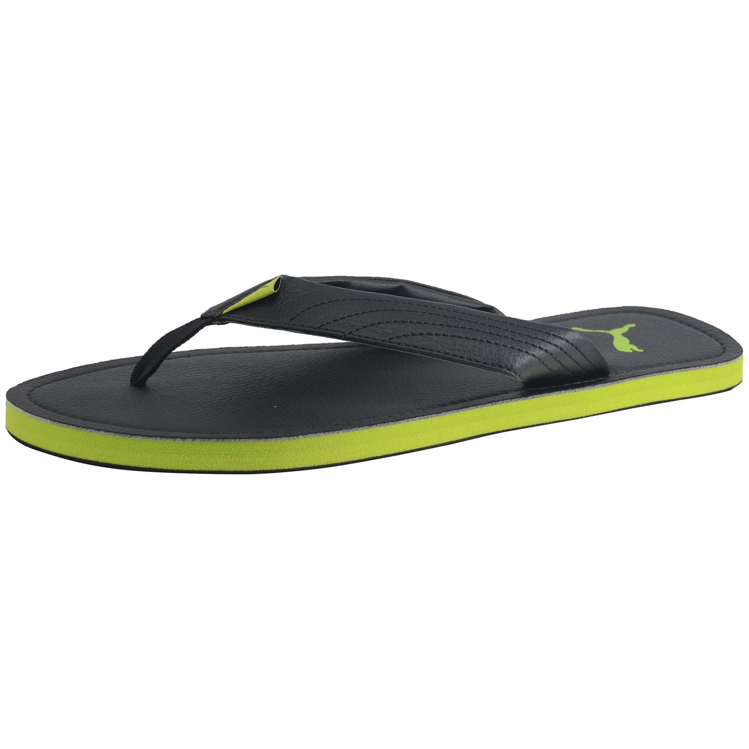 170bf981e7d1a Puma Men Black Green FLIP Flop Slippers Ketava III DP Size 8 UK  Amazon.in   Shoes   Handbags