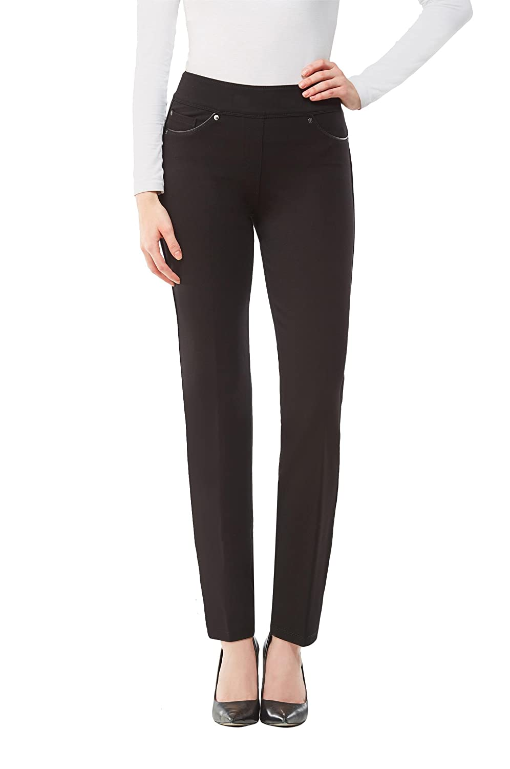 Plus Luxe C4J Piped Skinny Pant Black 2X