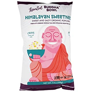 Lesser Evil - Buddha Bowl Organic Popcorn Himalayan Sweetness - 7 oz.