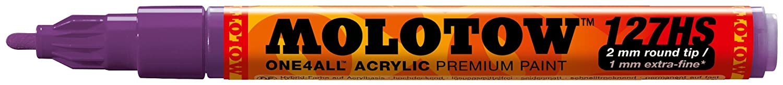 Molotow One4All 127HS 225 Rotulador, color 6 unidades, 2 mm, color Rotulador, hummer 2 mm c472cd