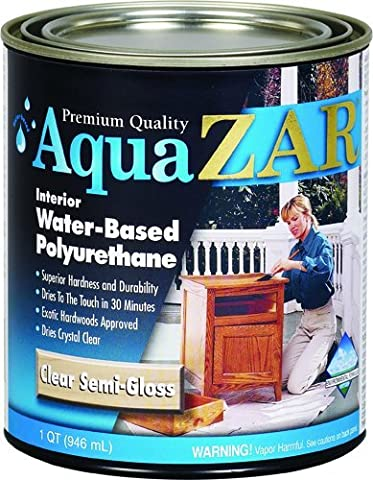 ZAR 34512 Semi Gloss Aqua Water Based Polyurethane - Low Voc Polyurethane