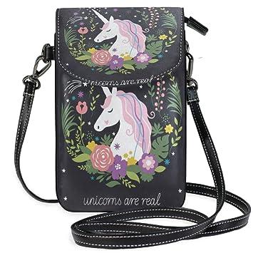 Amazon.com: Fire Running Horse bolsa cruzada pequeña de ...