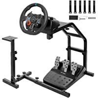 Minneer Racing Streeing Wheel Stand with V2 Support Game Support Stand Up Simulation Driving Bracket for Logitech G29…