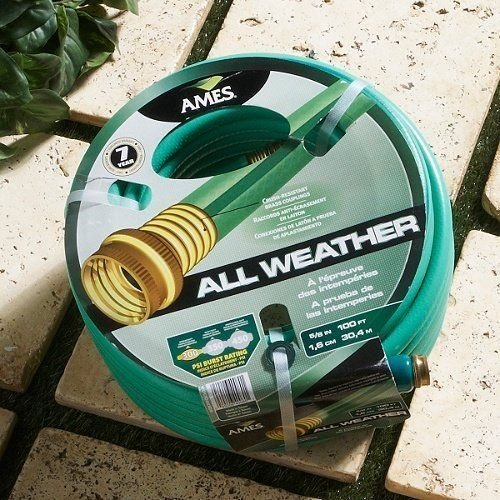 5/8'' X 100' Medium Dutygreen/Blue Garden Hose