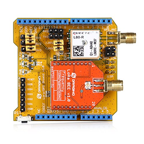Aihasd Lora/GPS Shield for Arduino 915Mhz