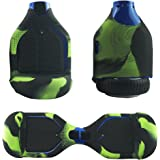 FBSPORT Silicone Case for T1 SWAGTRON Electric Self Balancing Scooter Full-Body Scratch Protector Cover Skin for T1 Hover Board (Scooter not included)