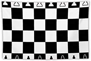 Chess Board Wall Tapestry Apestry Album 3D Wall Hanging Art Home Decor Wave Tapestries