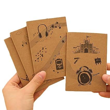 Toruiwa 10X Cuaderno Cuaderno Dibujo Cuadernos Bonitos ...