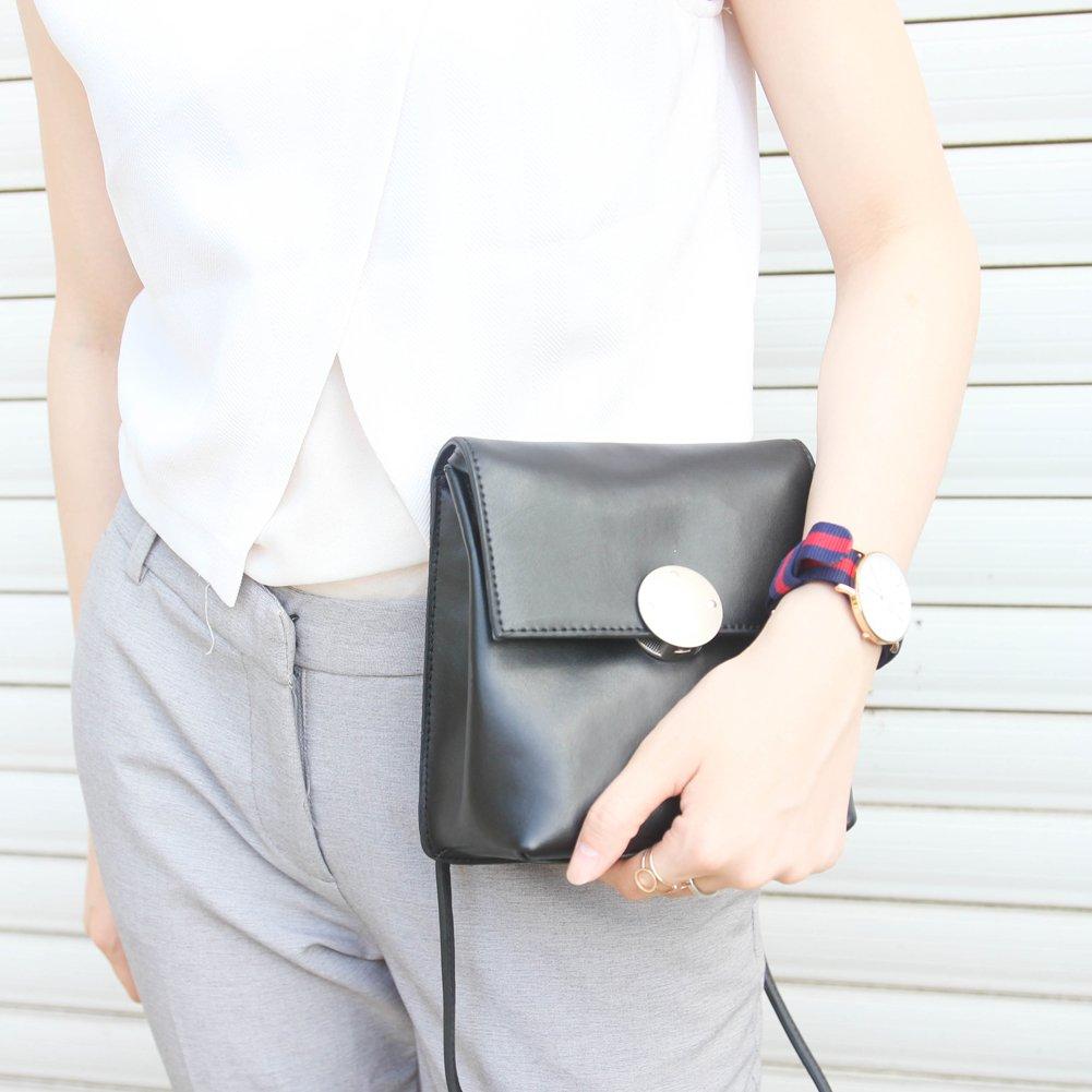 TEEINCO Genuine Leather Womens Crossbody Bag
