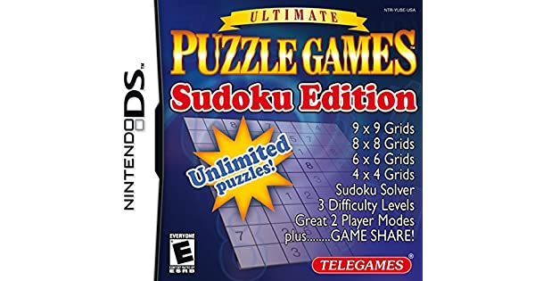 Amazon.com: Puzzle Games Sudoku Edition - Nintendo DS ...