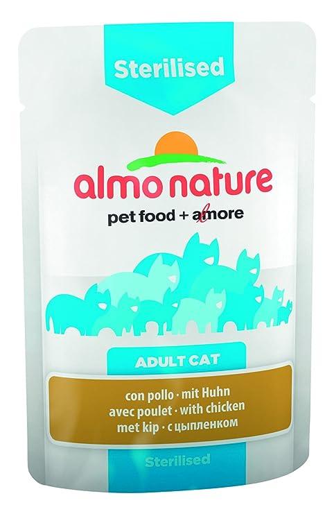 Almo nature Cat Funcional Funda esterilizar con Pollo
