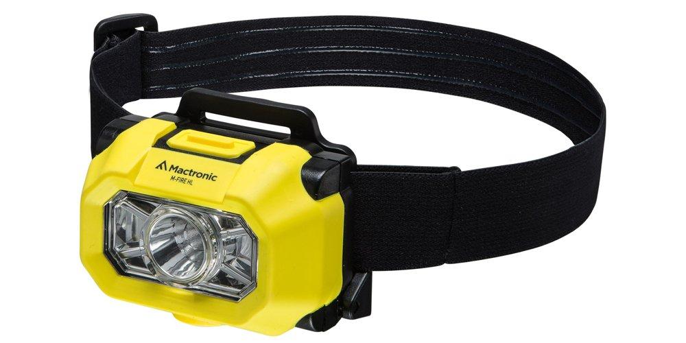 MacTronic Professional m-fire HL Taschenlampe 140 lm – Schwarz