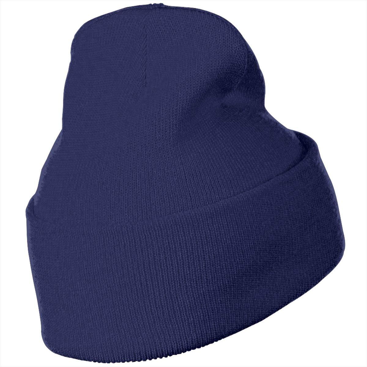 Warm /& Stylish Winter Hats Black Thick MACA Guam Unisex Slouch Beanie Hats