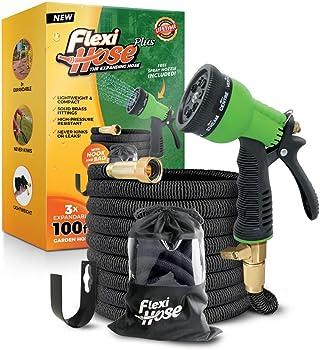 Flexi Hose Plus Lightweight Expandable Garden Hose (100ft)