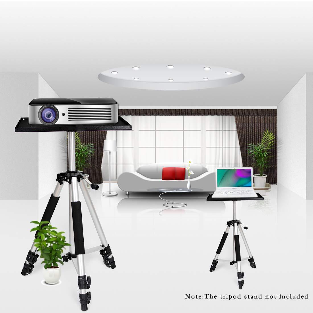 Bandeja de proyector universal con almohadilla antideslizante y ...