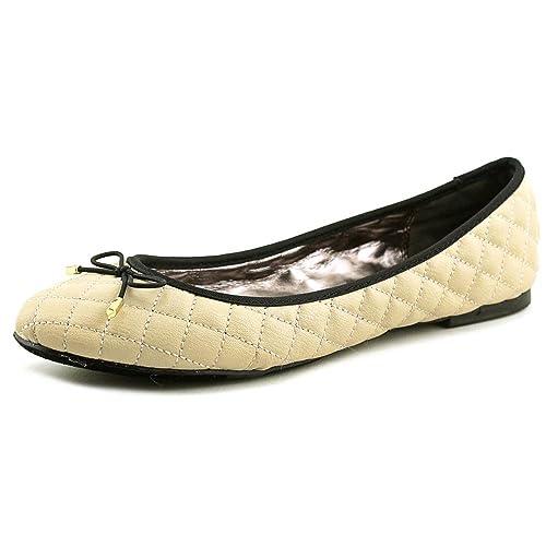 Material Girl Fifi - Mocasines de Piel para Mujer Beige Crema, Color Marfil, Talla 42 EU: Amazon.es: Zapatos y complementos