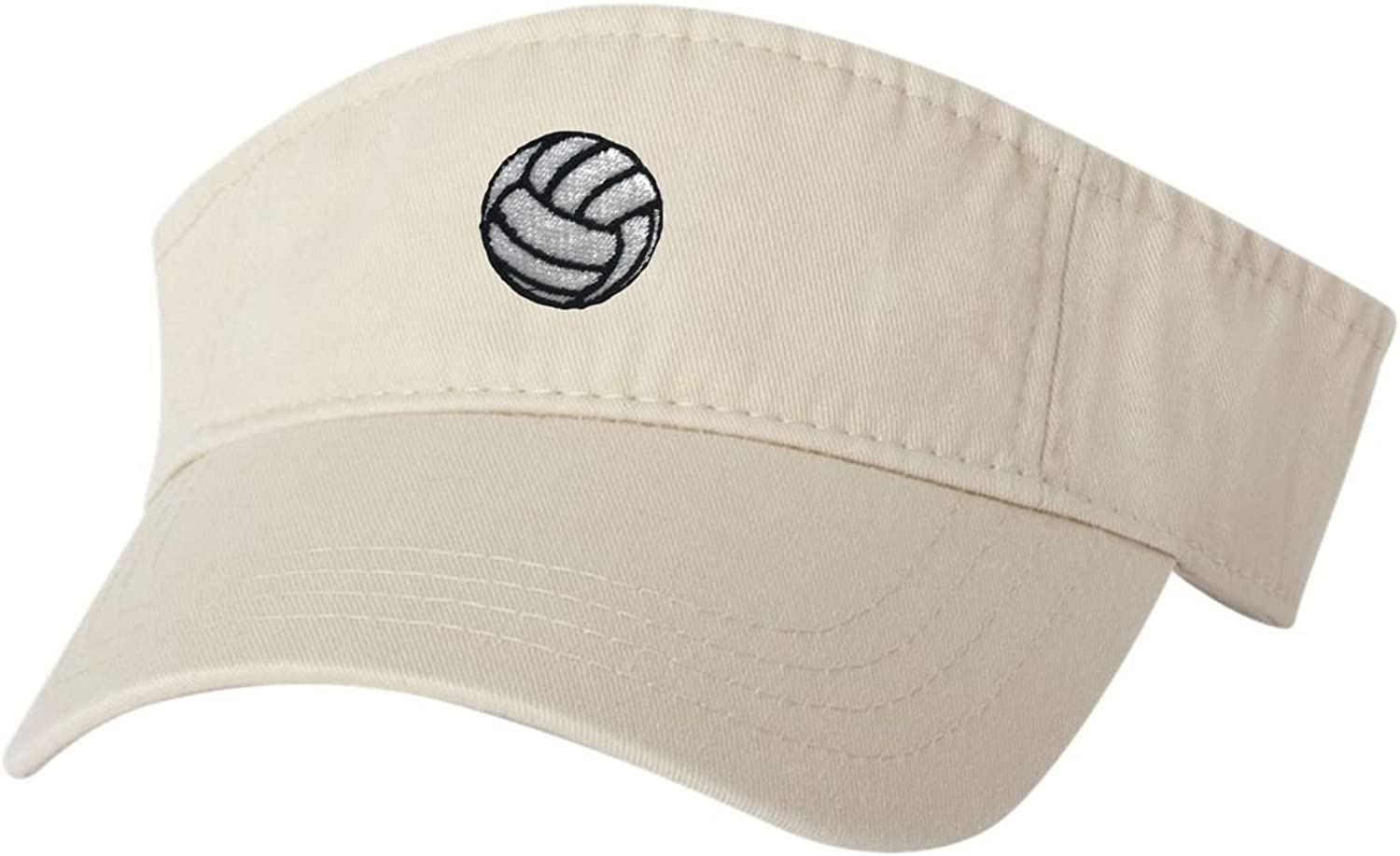 Go All Out Adult Volleyball Embroidered Visor Dad Hat