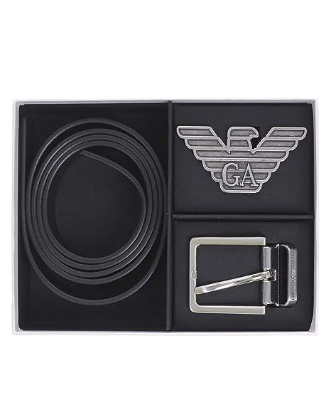 Amazon.com: Emporio Y4S270 YLP4X Armani - Cinturón con 2 ...